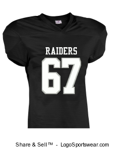 Adult Touchdown Steelmesh Football Jersey Design Zoom